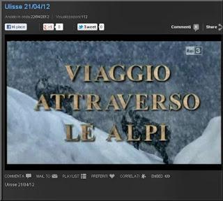 VIDEO. VIAGGIO ATTRAVERSO LE ALPI RAI.TV